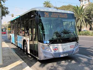 Línea 25 de la EMT. Fuente: Campanillas.eu