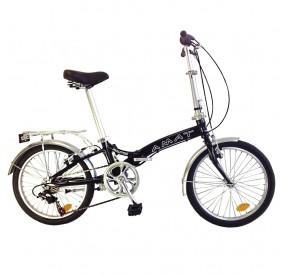 "Bicicleta plegable 20"" AMAT Nautic con Sturmey Archer"