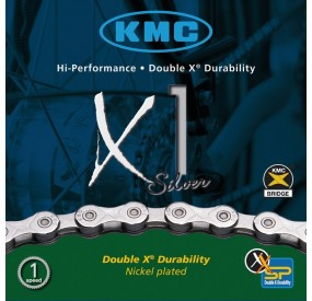 Cadena KMC x1 Silver