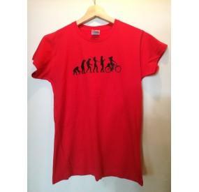 Camiseta Evolución Roja