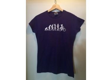 Camiseta Evolución Morada