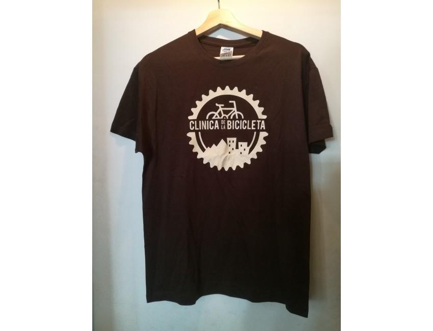 Camiseta Clínica chocolate hombre