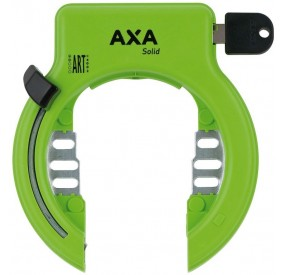 Antirrobo al cuadro AXA Solid verde