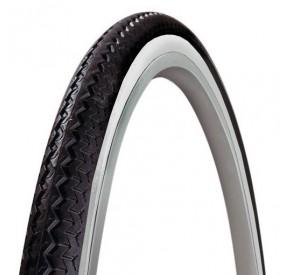 Cubierta 650A (26x1 3/8) Michelin World Tour blanca y negra