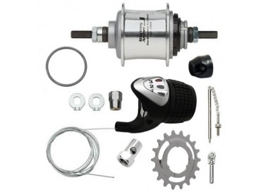 Set cambio interno Sturmey Archer 3v