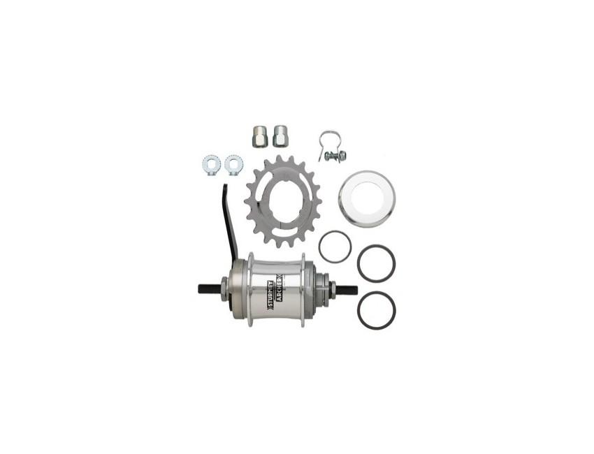 Set cambio interno Sturmey Archer 2v Duomatic contrapedal