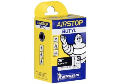 Cámara aire Michelin Airstop D3 600x28-37 válvula presta