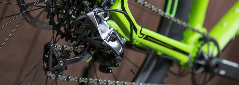 Transmisión para bicicletas. Componentes transmisión