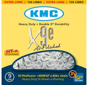 Cadena KMC especial e-bike 9v/10v