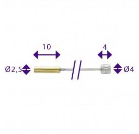 Cable cambio para Sturmey INOX 3m